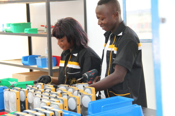 Lagazel solar lamps provide a ray of hope in Africa